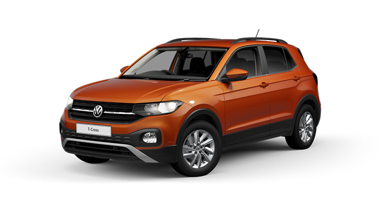VW T-cross Orange at Barons