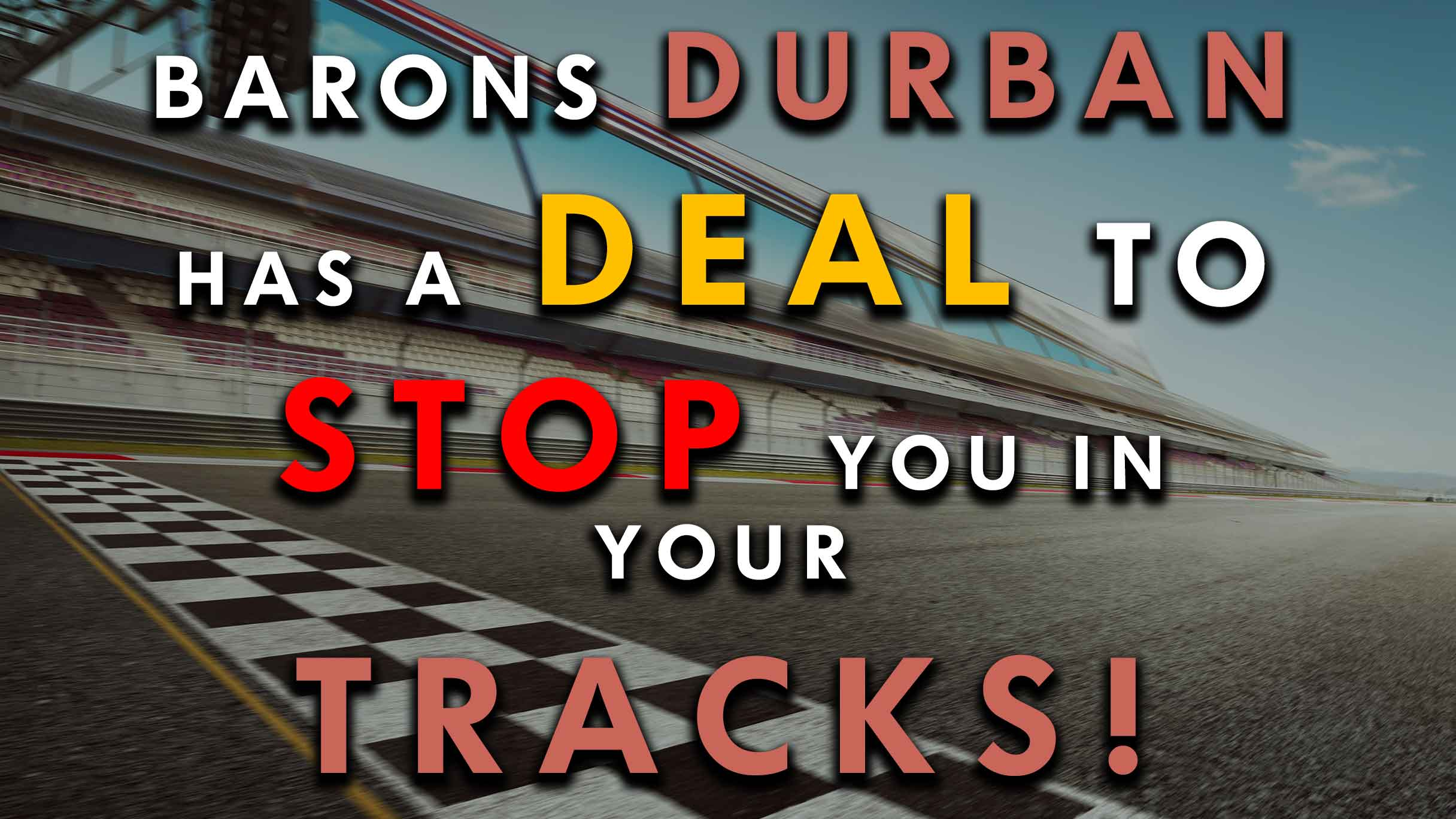 Barons Durban tyre offer