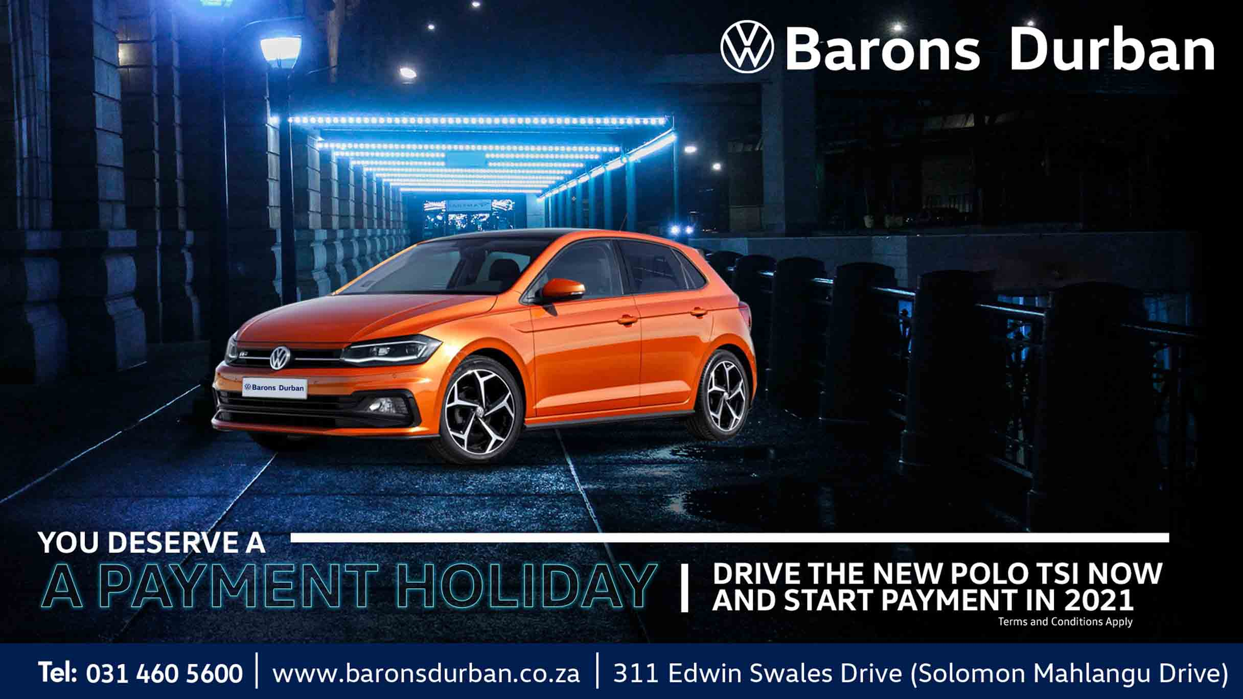 VW Polo offer at Barons Durban