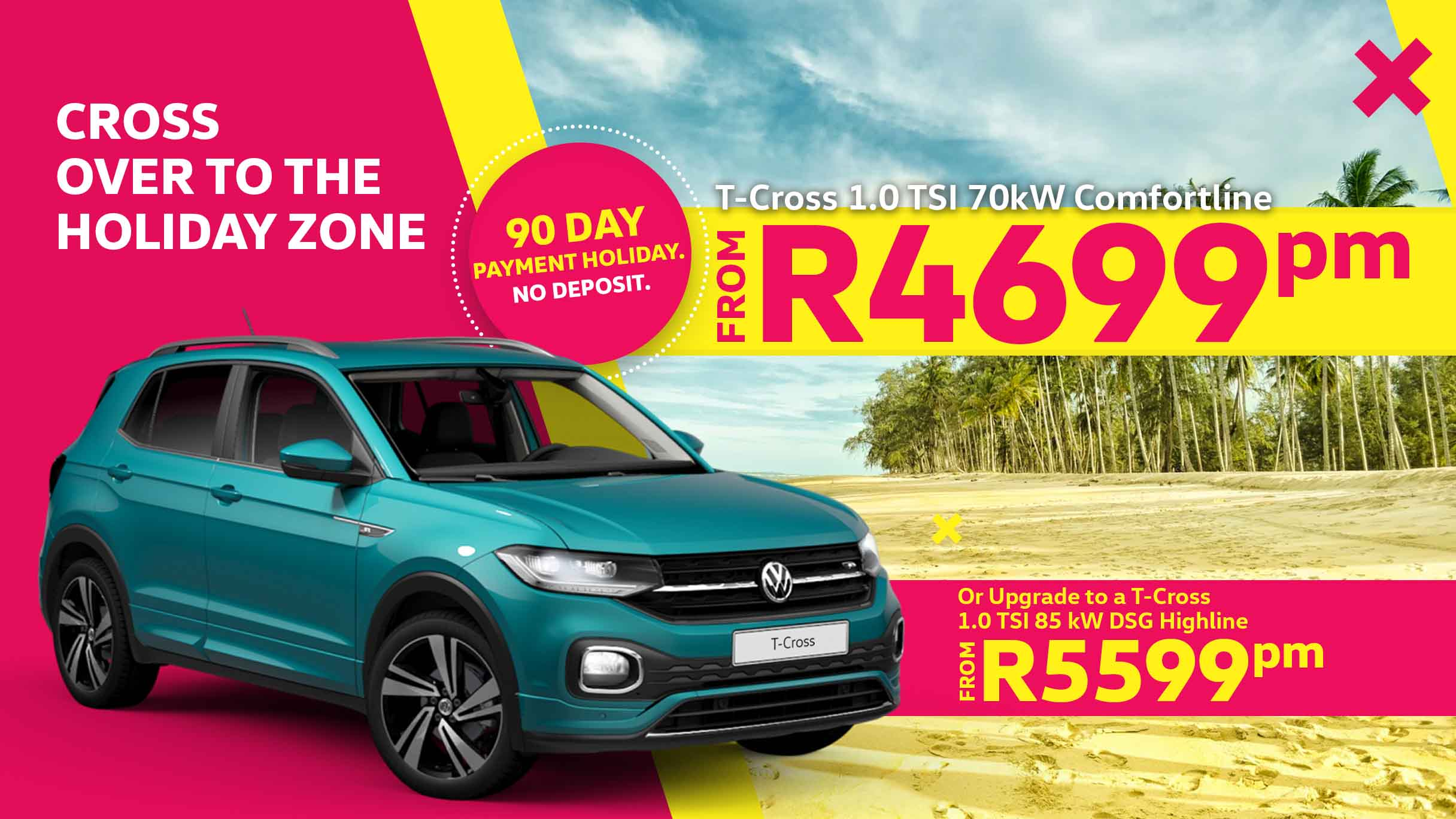 Barons Durban T-Cross special offer