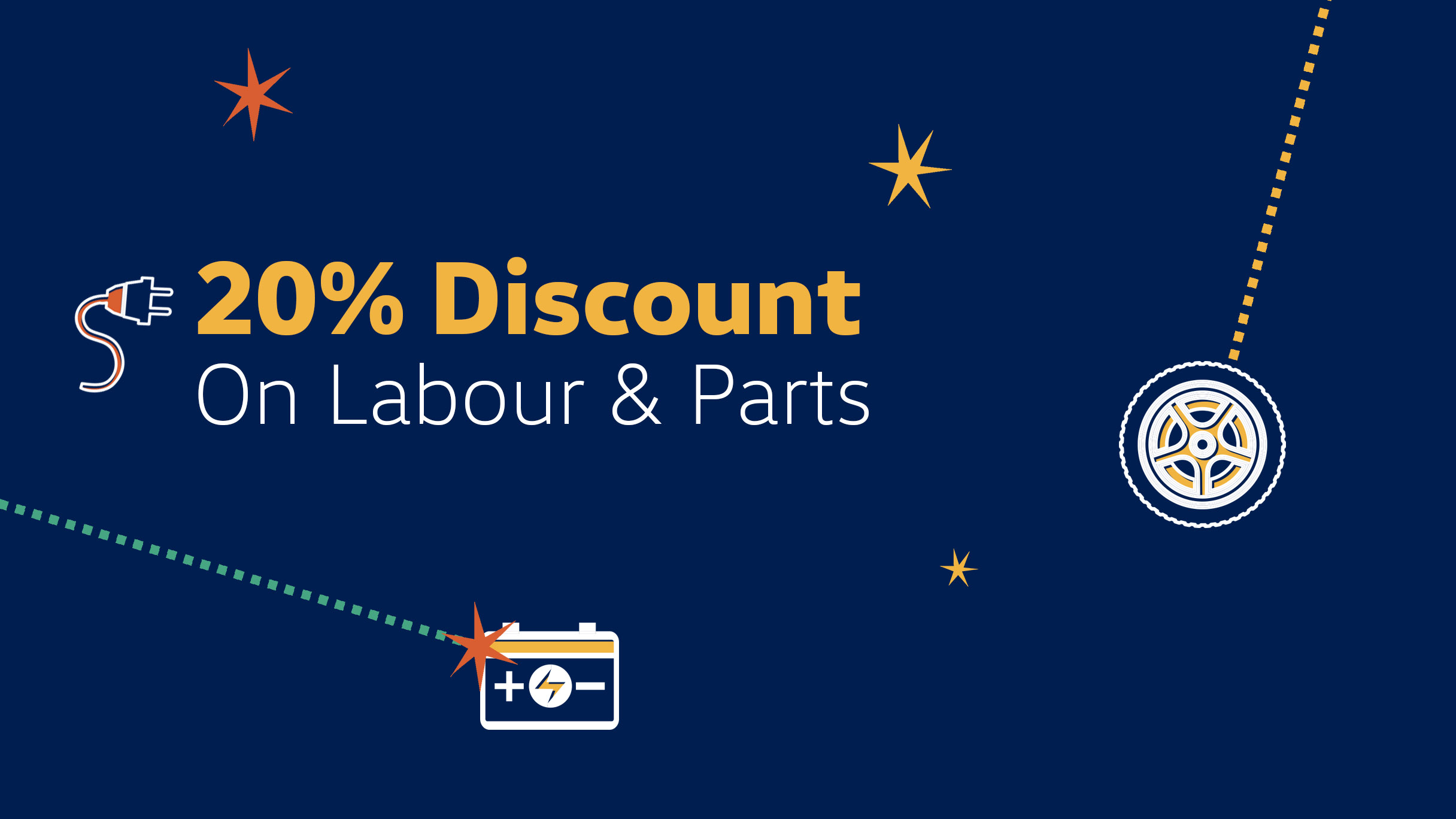 Discount on labour and part Barons Durban dealership, KZN